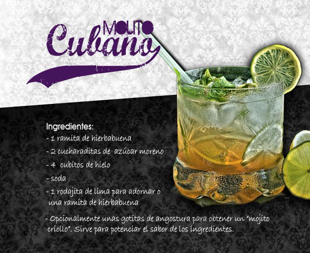 receta de mojitos cubano original